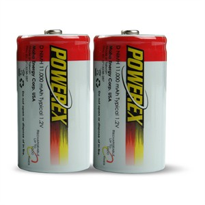 141 0496 - D 11000MAH RECHARGEABLE NIMH BATTERIES, 2 PACK - is no longer available at Cyberguys.com