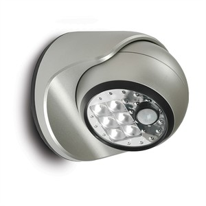 142 0465 - 6 LED SENSOR PORCH LIGHT, SILVER - is no longer available at Cyberguys.com