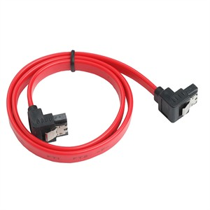 120 0226 - SATA 6GBPS RED CABLE W/LATCH, RIGHT ANGLE, 50CM - is no longer available at Cyberguys.com