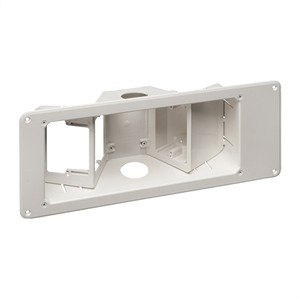 180 0644 - RECESSED TV BOX W/ANGLED OPENINGS, 3-GANG - is no longer available at Cyberguys.com