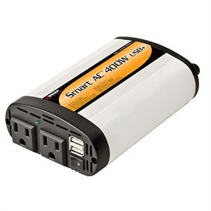 141 0294 - 400 WATT DC TO AC PWER INVRTR 2.1A USB PRT,110VX2 - is no longer available at Cyberguys.com