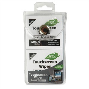114 0058 - TOUCHSCREEN CLEANING TISSUE NATURAL FORMULA 12PK - is no longer available at Cyberguys.com
