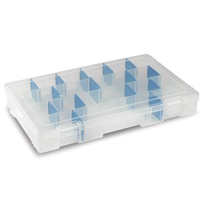 115 0249 - FLAMBEAU TUFF TAINER CLEAR STORAGE BOX, 14x9x2 - is no longer available at Cyberguys.com
