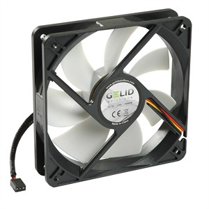 148 0182 - GELID SILENT12 120MM SILENT CASE FAN, 3 PIN MOLEX - is no longer available at Cyberguys.com