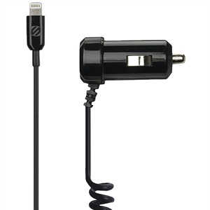 141 0361 - SCOSCHE STRIKEDRIVE 1AMP CAR CHARGER W/LIGHTNING - is no longer available at Cyberguys.com