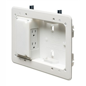 180 0118 - ARLINGTON LOW PROFILE TV BOX, 5IN X 8IN - is no longer available at Cyberguys.com