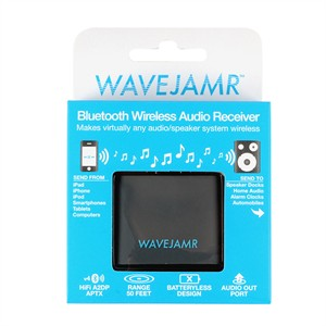 245 1085 - WAVEJAMR 5 BLUETOOTH AUDIO RECEIVER, 30 PIN - is no longer available at Cyberguys.com