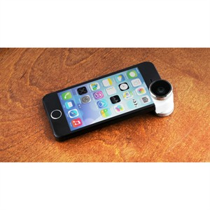 204 0336 - OLLOCLIP 4-IN-1 PHOTO LENS FOR IPHONE 5/5S, SILVER - is no longer available at Cyberguys.com