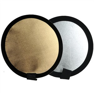 """204 0379 - 12"""" REFLECTOR, GOLD/SILVER - is no longer available at Cyberguys.com"""