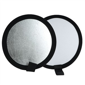 "204 0380 - 12"" REFLECTOR, SILVER/WHITE - is no longer available at Cyberguys.com"