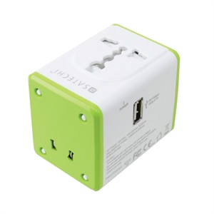 202 0541 - SATECHI SMART TRAVEL ADAPTER WITH USB PORT - is no longer available at Cyberguys.com
