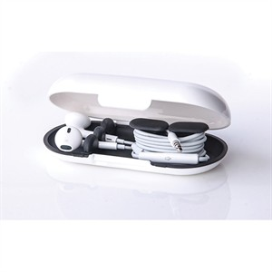 113 0051 - EARBUD CASE, WHITE/BLACK - is no longer available at Cyberguys.com