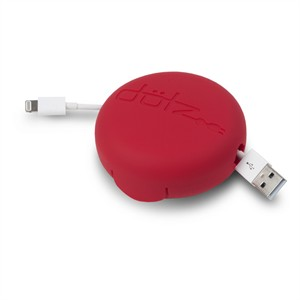 113 0160 - DOTZ CORD CASE, RED - is no longer available at Cyberguys.com