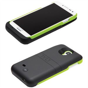 215 3606 - ENERGI SLIDING POWER CASE, GALAXY S4, BLACK/GREEN - is no longer available at Cyberguys.com