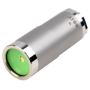 142 0482 - FOURSEVENS ATOM CR123A STAINLESS STEEL FLASHLIGHT - is no longer available at Cyberguys.com
