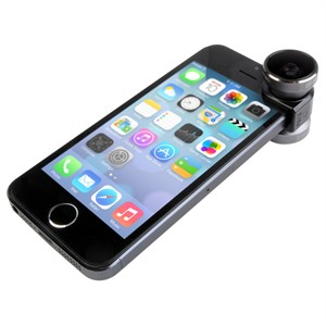 204 0339 - OLLOCLIP 4-IN-1 PHOTO LENS, IPHONE 5/5S GREY/BLACK - is no longer available at Cyberguys.com